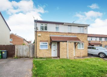 Thumbnail 2 bed terraced house for sale in Laureate Close, Llanrumney, Cardiff
