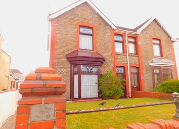 Thumbnail 3 bedroom semi-detached house for sale in Vadre Road, Clydach, Swansea