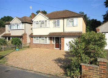 Thumbnail 4 bed detached house for sale in Franklands Drive, Addlestone, Surrey