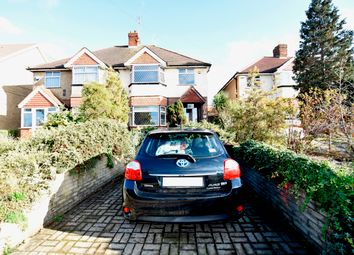 Thumbnail 3 bed semi-detached house for sale in West View, Bedfont, Middlesex