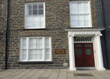 Thumbnail 1 bed flat to rent in Flat 4, 24 North Parade, Aberystwyth, Ceredigion