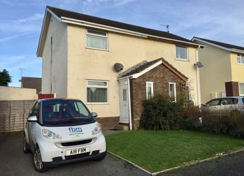 Thumbnail 2 bedroom semi-detached house to rent in Glenview Avenue, Pembroke Dock, Pembrokeshire