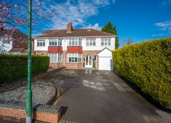 Thumbnail 5 bed semi-detached house for sale in Bourton Road, Solihull