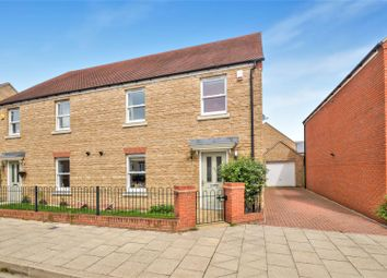 Thumbnail 4 bed semi-detached house for sale in Kempton Close, Chesterton, Bicester