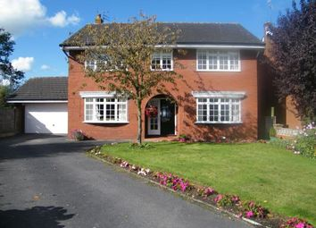 Thumbnail 4 Bed Detached House For Sale In Plover Avenue Winsford Cheshire England