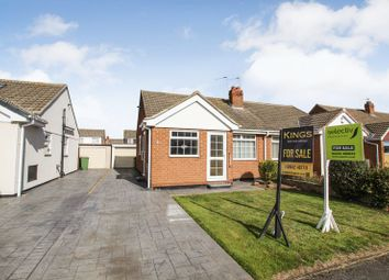 Thumbnail 2 bed semi-detached bungalow for sale in Spencer Close, Marske-By-The-Sea, Redcar