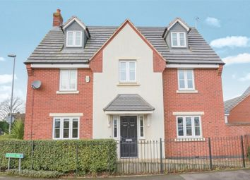 Thumbnail 5 bed detached house for sale in Hough Way, Strawberry Fields, Essington, Wolverhampton