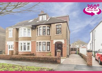 Thumbnail 4 bed semi-detached house for sale in St. Anthony Road, Heath, Cardiff