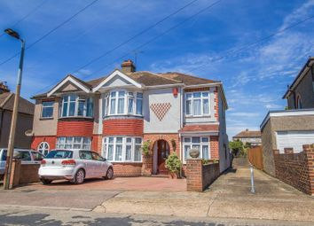 Thumbnail 4 bed semi-detached house for sale in Lowlands Road, Aveley, South Ockendon