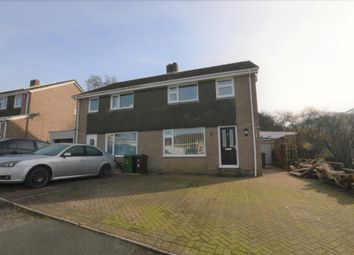 Thumbnail 3 bedroom semi-detached house to rent in Brook Close, Plymouth, Devon