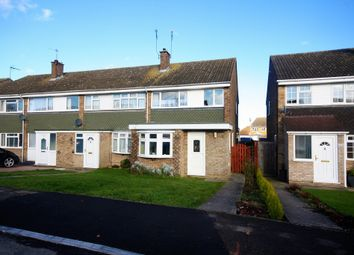 Thumbnail 3 bedroom end terrace house for sale in Firecrest Road, Tile Kiln, Chelmsford