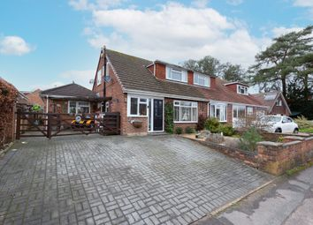Thumbnail 3 bed semi-detached house for sale in Frogmore Park Drive, Blackwater, Camberley