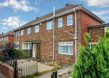Thumbnail 3 bed semi-detached house for sale in Wood Lane, Bedlington, Northumberland