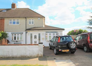 Thumbnail 3 bed semi-detached house for sale in Love Lane, Aveley, South Ockendon