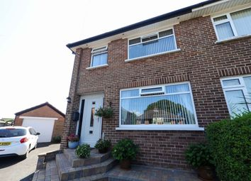 Thumbnail 3 bed semi-detached house for sale in Wanstead Crescent, Dundonald, Belfast