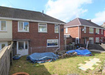 Thumbnail 3 bed semi-detached house for sale in Pen-Y-Mynydd, Bettws, Bridgend, Bridgend.