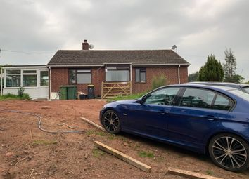 Thumbnail 3 bed detached bungalow for sale in Port Road, Dawlish