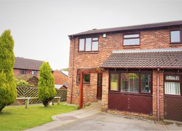 Thumbnail 3 bed semi-detached house for sale in Woodlands Croft, Kippax, Leeds