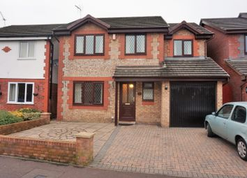 Thumbnail 4 bed detached house for sale in Mallards Reach, Cardiff