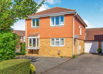 Thumbnail 4 bed detached house for sale in Caernarvon Road, Eynesbury, St. Neots