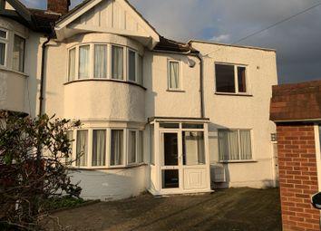 Thumbnail 4 bed semi-detached house to rent in Brixham Crescent, Ruislip Manor, Ruislip