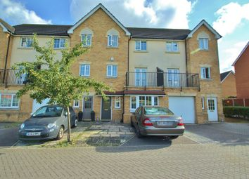 Thumbnail 4 bedroom town house to rent in Genas Close, Ilford