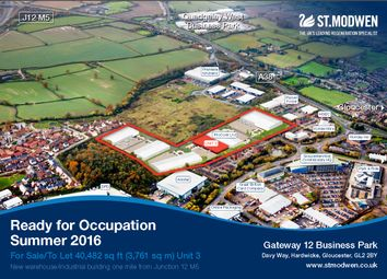 Thumbnail Industrial for sale in Waterwells Business Park, Gloucester