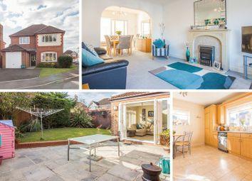 Thumbnail 4 bed detached house for sale in Lansdowne Gardens, Llantarnam, Cwmbran