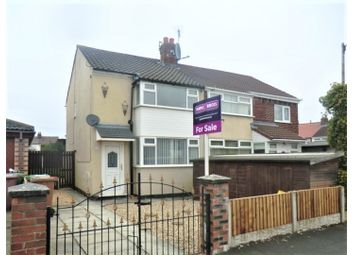 Thumbnail 3 bed semi-detached house for sale in St. Davids Close, Prescot