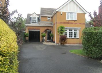 Thumbnail 4 bed detached house for sale in Northbourne Drive, Nuneaton