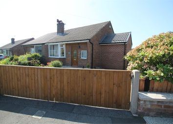 Thumbnail 2 bedroom semi-detached bungalow for sale in Lea Gate Close, Harwood, Bolton, Lancashire