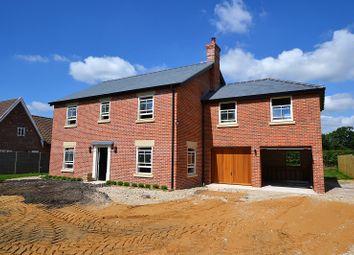 Thumbnail 4 bedroom detached house for sale in Shop Street, Whinburgh, Dereham, Norfolk.