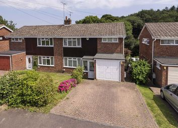 Thumbnail 3 bed semi-detached house for sale in Hever Wood Road, West Kingsdown, Sevenoaks