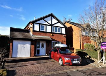 Thumbnail 3 bed detached house for sale in Kingsmead, Blackburn
