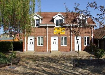 Thumbnail 1 bed end terrace house to rent in South Street, Stanground, Peterborough
