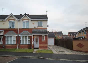 Thumbnail 3 bed semi-detached house to rent in Harlequin Drive, Kingswood, Hull