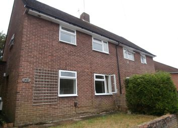 Thumbnail 4 bed semi-detached house to rent in Fivefields Road, Winchester