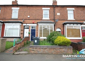 Thumbnail 2 bed terraced house to rent in Wood Lane, Harborne