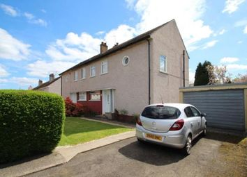 Thumbnail 3 bed semi-detached house for sale in Rannoch Place, Paisley, Renfrewshire