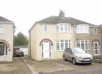 Thumbnail 3 bed semi-detached house for sale in Tiverton Road, Swindon