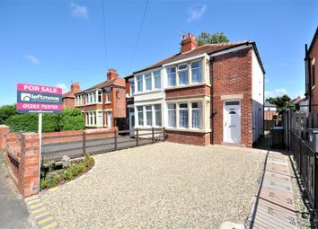 Thumbnail 2 bedroom semi-detached house for sale in Kingscote Drive, Blackpool, Lancashire