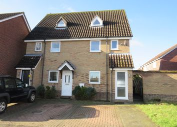 Thumbnail 2 bedroom flat for sale in Yew Tree Road, Attleborough