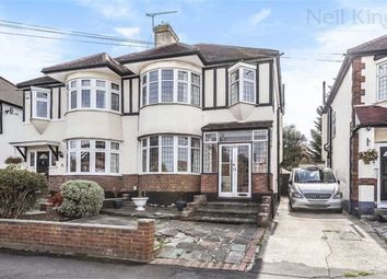 Thumbnail 3 bed semi-detached house for sale in Rivington Avenue, Woodford Green, Essex