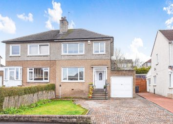 Thumbnail 3 bed semi-detached house for sale in Park Crescent, Bishopbriggs, Glasgow