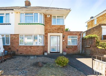 4 bed semi-detached house for sale in Lingley Drive, Wainscott, Rochester, Kent ME2