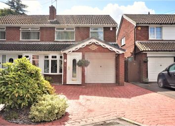 Thumbnail 3 bed semi-detached house for sale in Chestnut Drive, Walsall