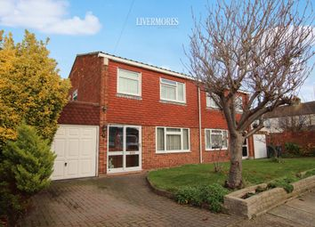 Thumbnail 3 bed semi-detached house for sale in Helen Close, West Dartford, Kent