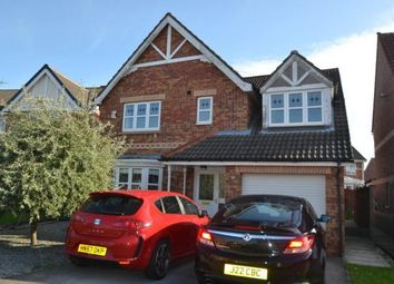 Thumbnail 4 bed detached house to rent in Hartsholme Park, Kingswood, Hull