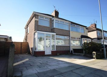 Thumbnail 3 bed semi-detached house to rent in Merton Crescent, Huyton, Liverpool