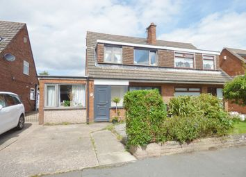 Thumbnail 4 bed semi-detached house for sale in Keith Avenue, Great Sankey, Warrington